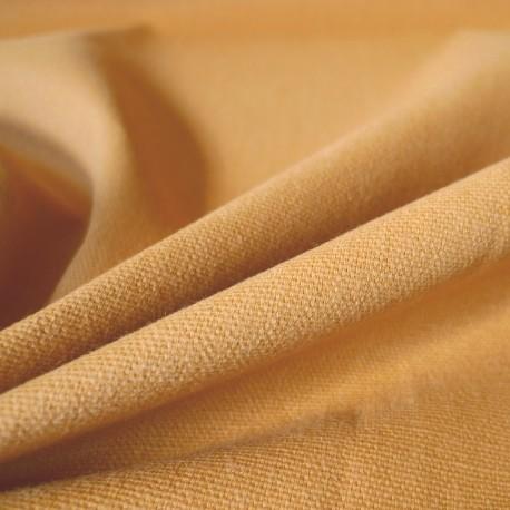 Coton vintage moutarde