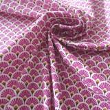 Coton Eventails prune