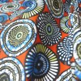 Tissu coton Soweto orange