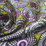 Tissu coton Soweto  jaune