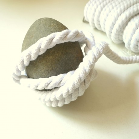 Cordon max coton blanc