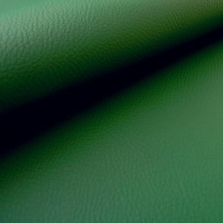 Simili cuir Karia vert épicéa