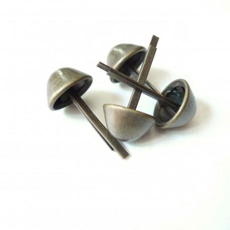 Pieds de sac supérieurs bronze
