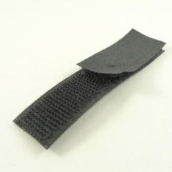 Velcro noir 20 mm