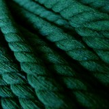 Cordon max coton vert foncé