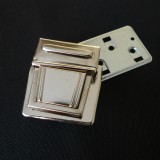 Fermoir cartable Médium nickel