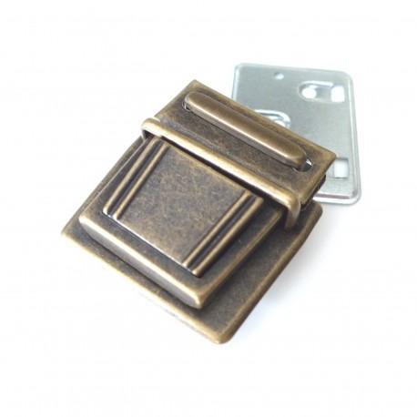Fermoir cartable Médium bronze