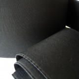Elastique noir 120 mm