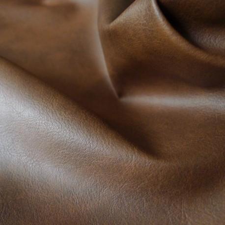Simili cuir Club marron