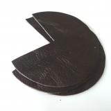 Coins de sacs cuir marron