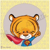 Coupon illustré Zanimo Tigre
