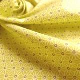 Tissu japonais Fuji anis