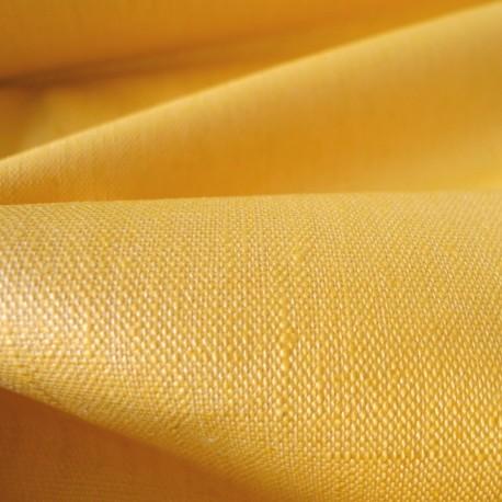 Lin enduit jaune