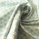Tissu coton Riad amande