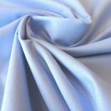 Tissu coton bleu ciel Evira