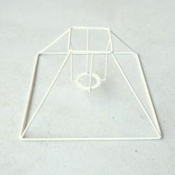Carcasse abat-jour pyramide petit modèle