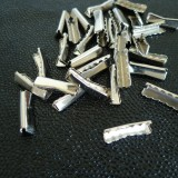 Embout sangle 25 mm nickel