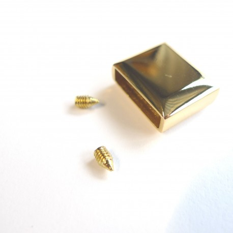 Embout zip bronze