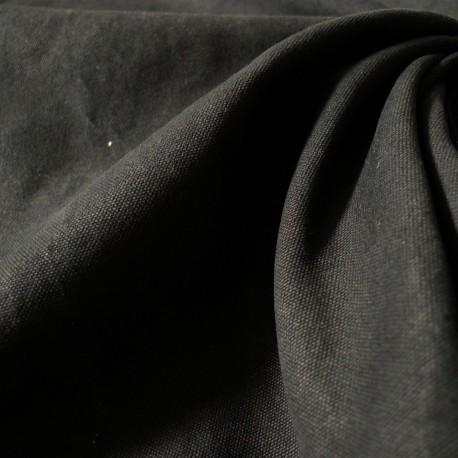 Toile cotton Military noir