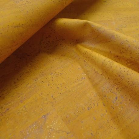 Cuir de liège jaune
