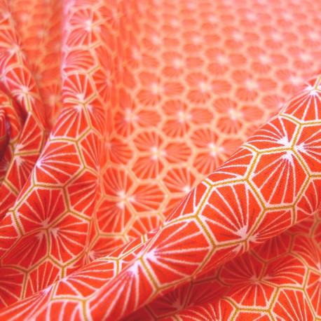 Tissu coton Riad Géranium