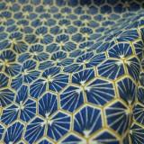 Tissu coton Riad Marine