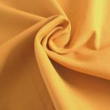 Tissu toile canevas moutarde