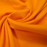 Tissu coton orange Evira
