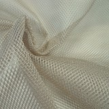 Tissu filet Mesh Fabric Beige