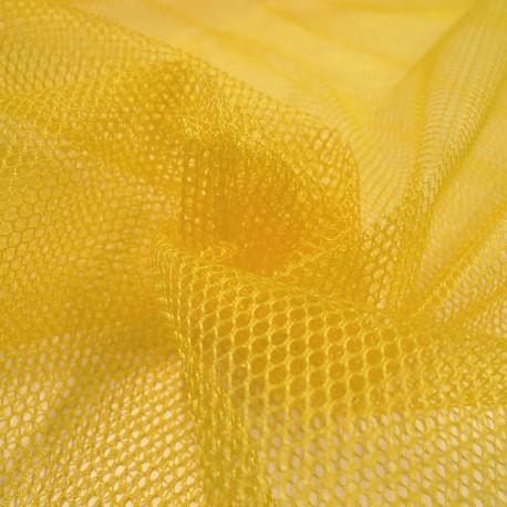 Tissu filet Mesh Fabric Jaune