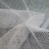 Tissu filet Mesh Fabric Blanc