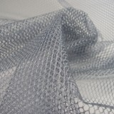 Tissu filet Mesh Fabric Gris