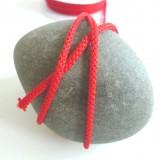 Cordon tricoté Rouge