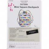 Patron Mini Square Backpack de Kiyohara