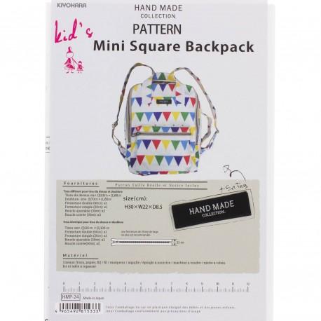 Patron Mini Square Backpack de Kiyohara