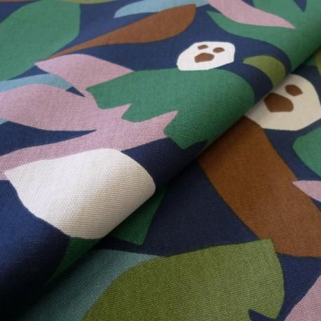 Coton Canevas Abstract