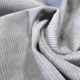 Tissu velours côtelé STARSKY gris perle A FINIR