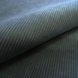 Tissu velours côtelé STARSKY pétrole FAIRE ASSOC