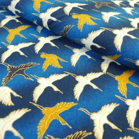Coton Grue Bleu