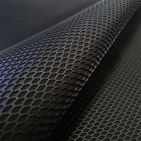 Coupon Impression 3D Grid noir