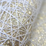 Coupon impression 3D SKY blanc glitter or