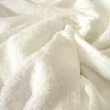 Tissu éponge Bébé Bambou écru