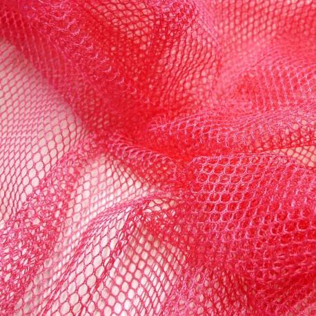 Tissu filet Mesh Fabric Fuchsia