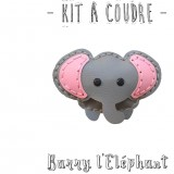 Kit à coudre Barry l'Elephant