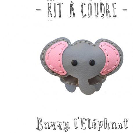 Kit à coudre Barry l'Elephant