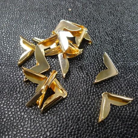 Coins métal Or
