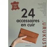 Livre 24 accessoires en cuir