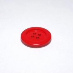Bouton rouge cerise
