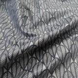 Enduit coton Plumage gris