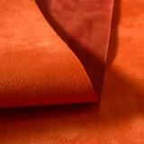 Suédine Alaska Orange-Tomette